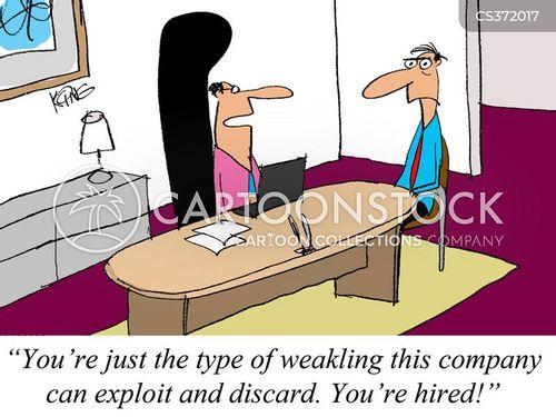 weaklings cartoon