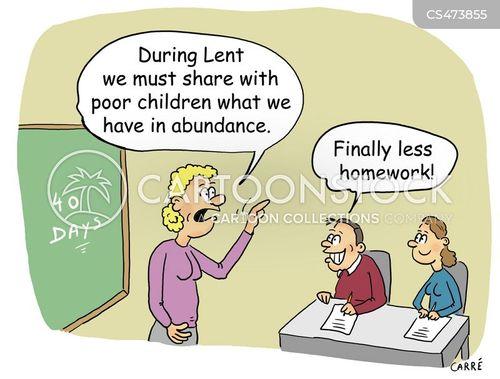 abundance cartoon