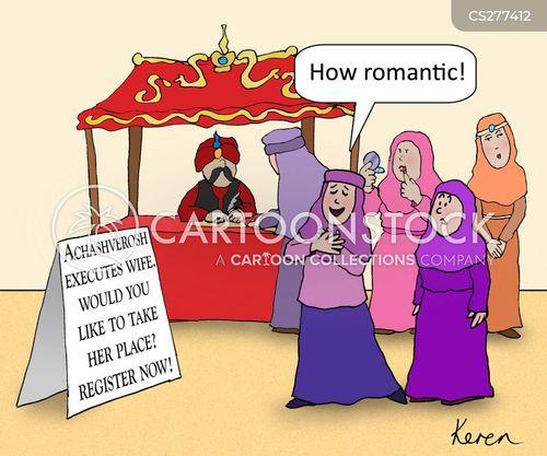 ahasuerus cartoon