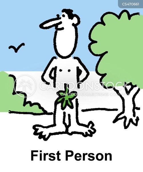 fig leaf cartoon