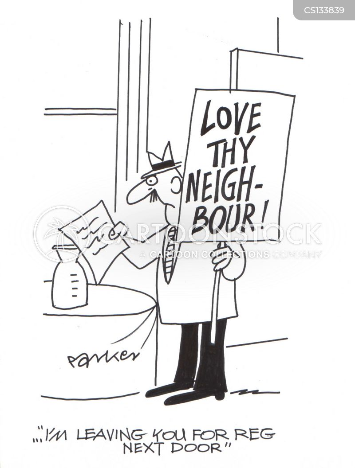 dear john letter cartoon