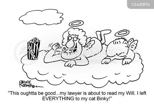 will readings cartoon