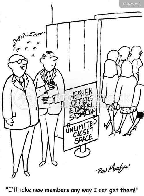 heavenly reward cartoon