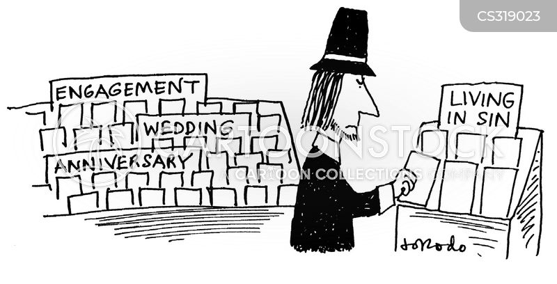 religious sects cartoon
