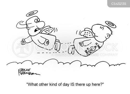 good days cartoon