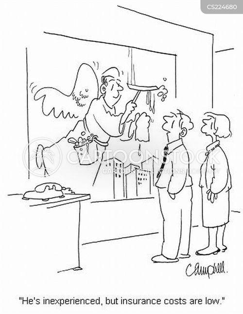 insurance costs cartoon