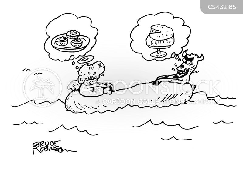 life-boat cartoon