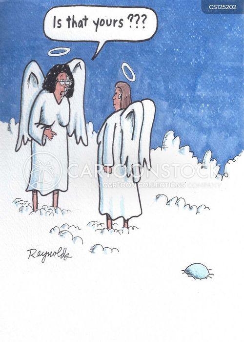 heavenly being cartoon