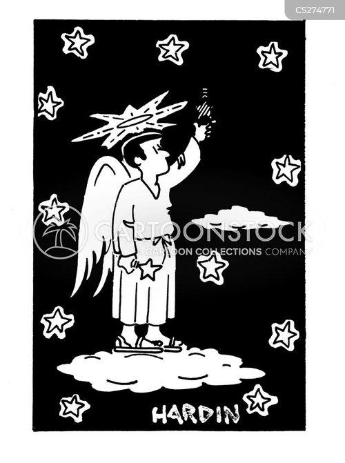 celestial cartoon