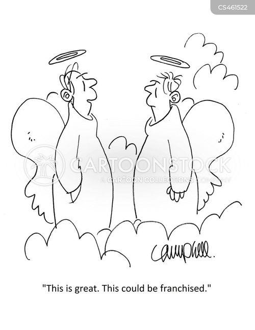 franchising cartoon
