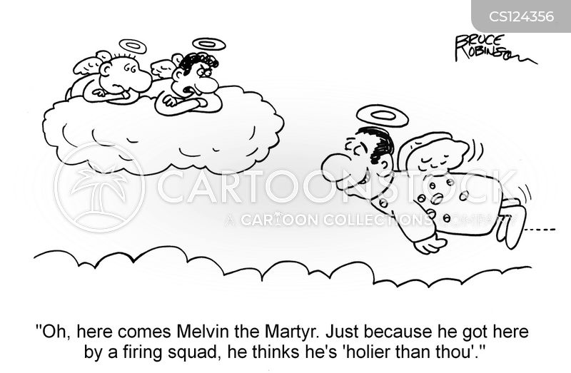 martyr cartoon
