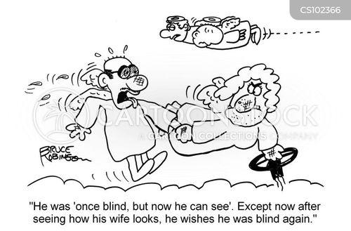 sight problem cartoon