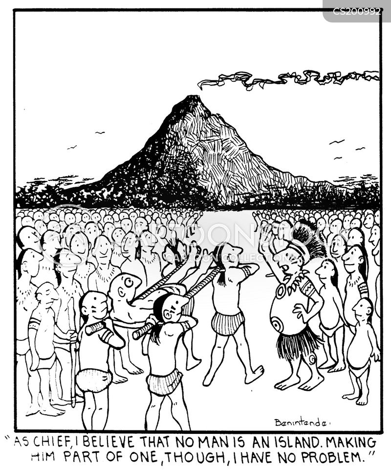 primitive religion cartoon