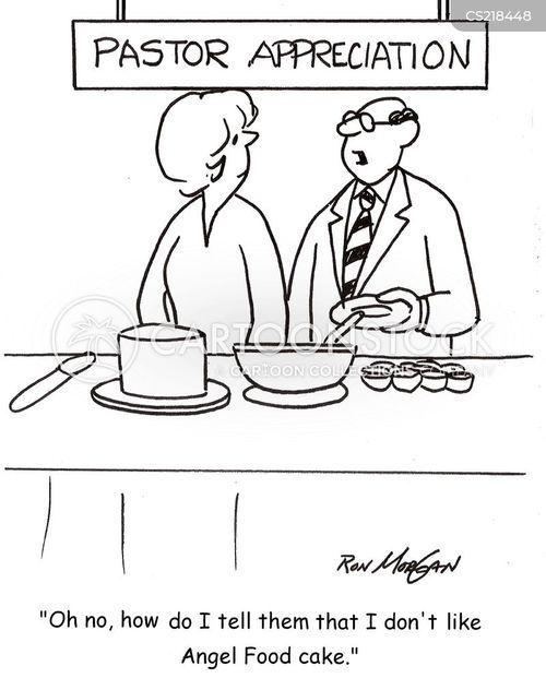 angel cake cartoon
