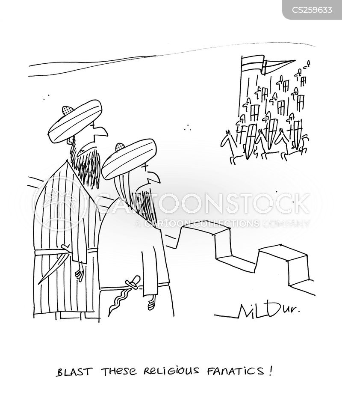 under siege cartoon