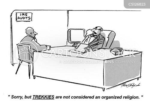 trekkies cartoon