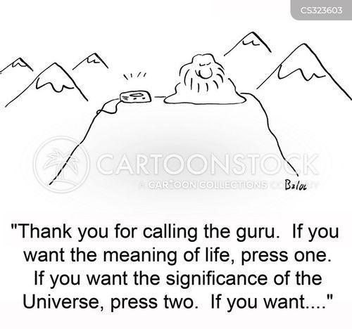 automated phone system cartoon