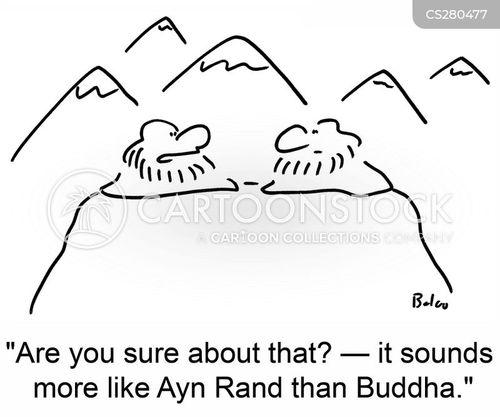 ayn rand cartoon