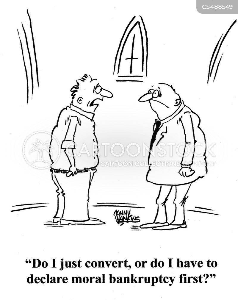 religious conversion cartoon