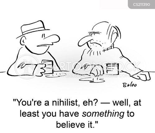 nihilist cartoon