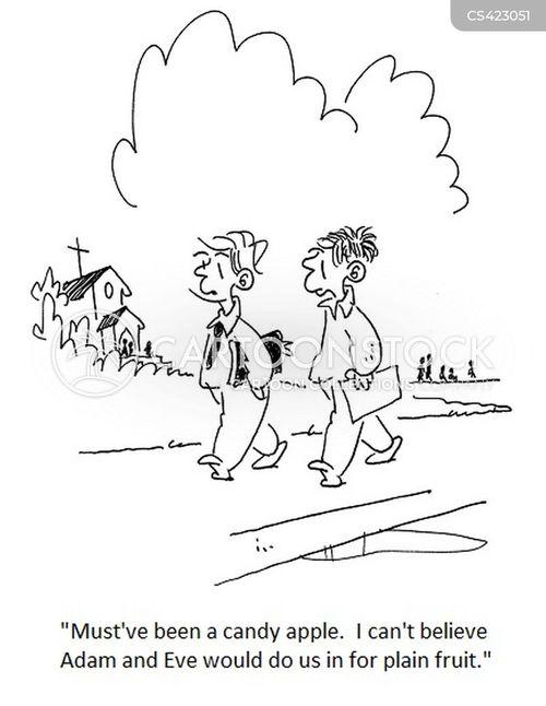 sunday schools cartoon