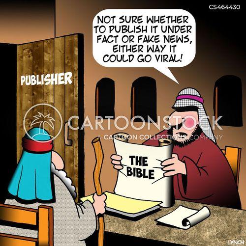 click bait cartoon