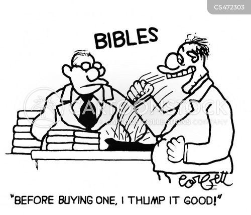 bible bashers cartoon