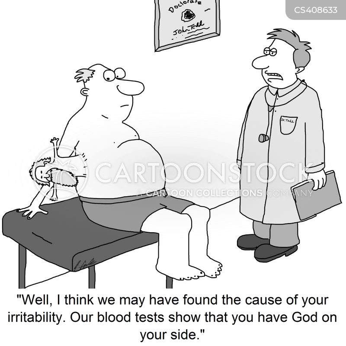 irritability cartoon