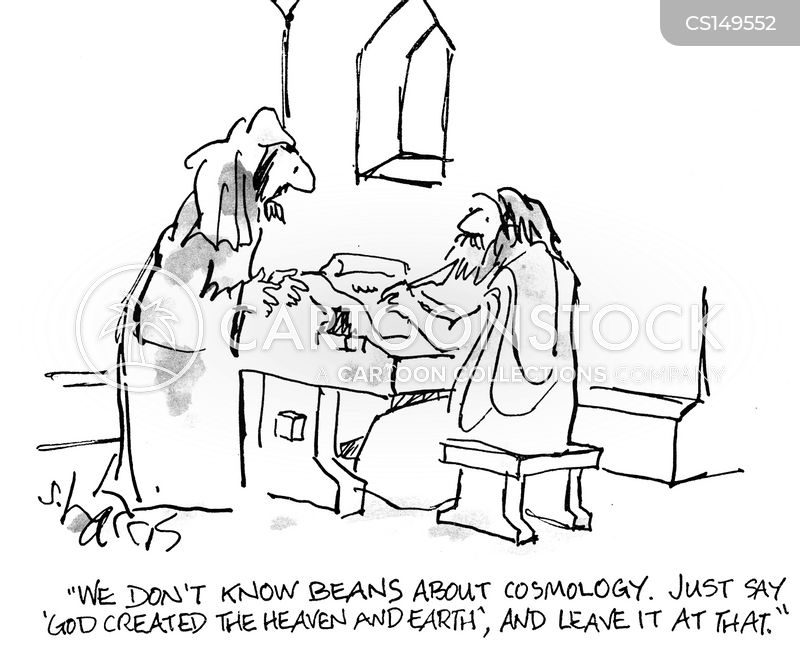 cosmology cartoon