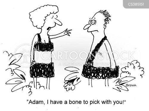 rib cartoon
