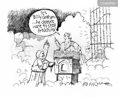 religious man cartoon