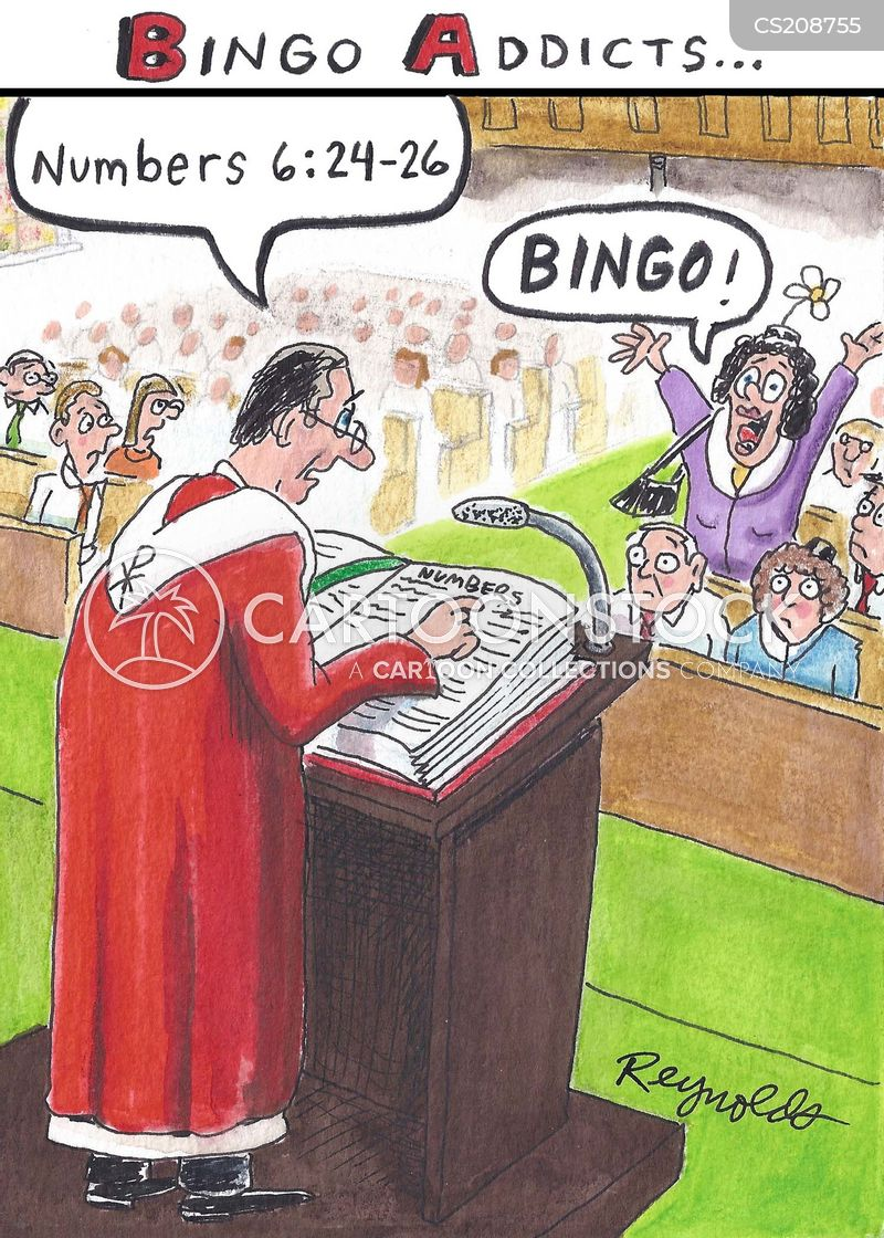 parishioners cartoon
