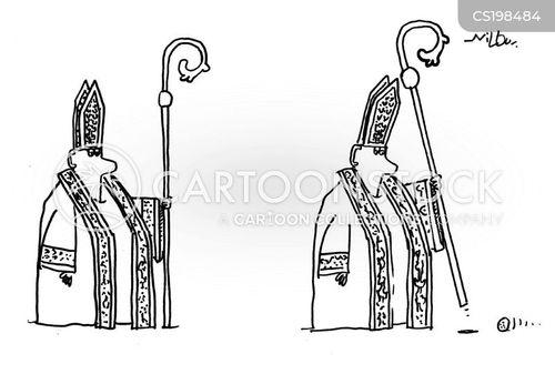 bishop cartoon