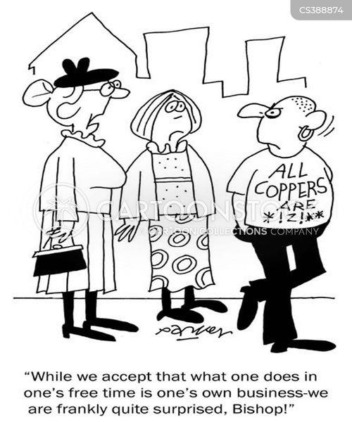 parishoner cartoon