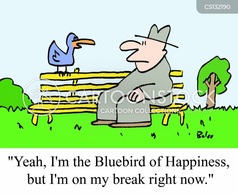 bluebird of happiness cartoon
