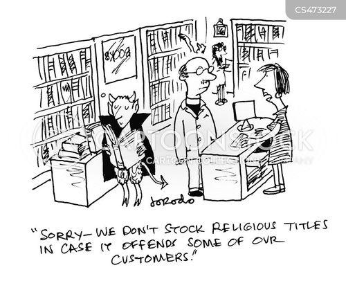 religious text cartoon