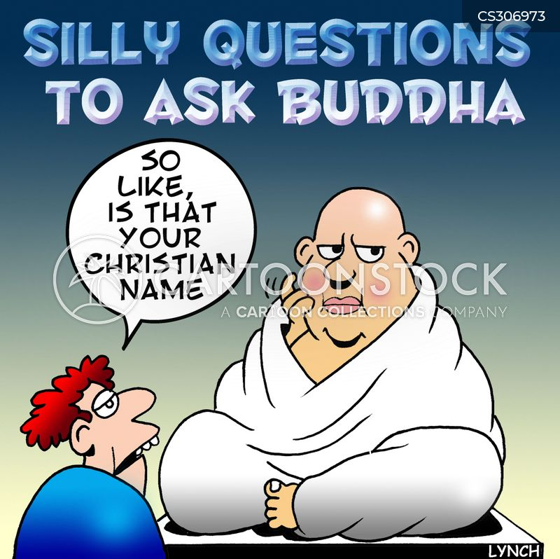 silly questions cartoon
