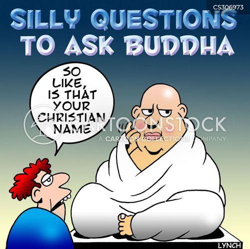 christian names cartoon