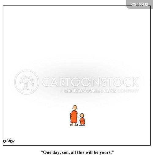 empty space cartoon