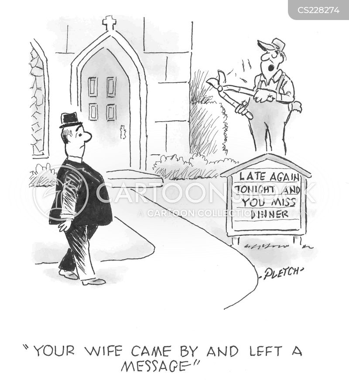 bulletins cartoon