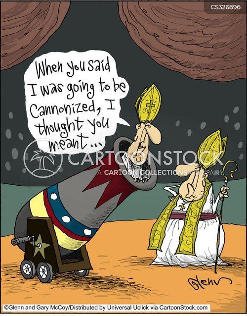 archbishops cartoon