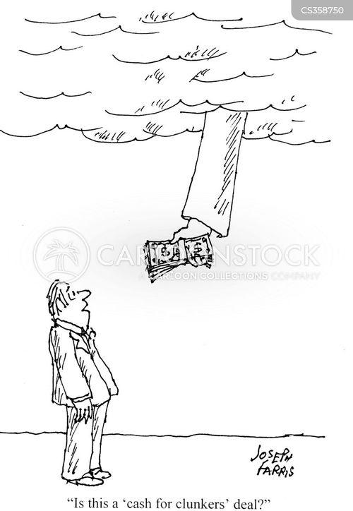 rebate cartoon