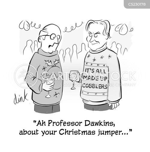 celebrity atheists cartoon