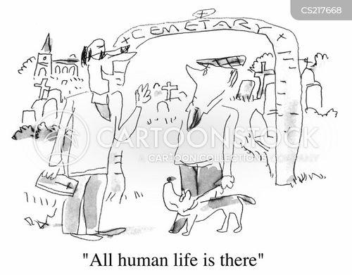 human life cartoon