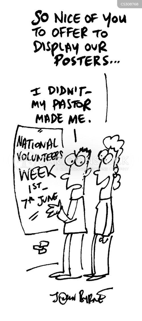 national volunteers week cartoon