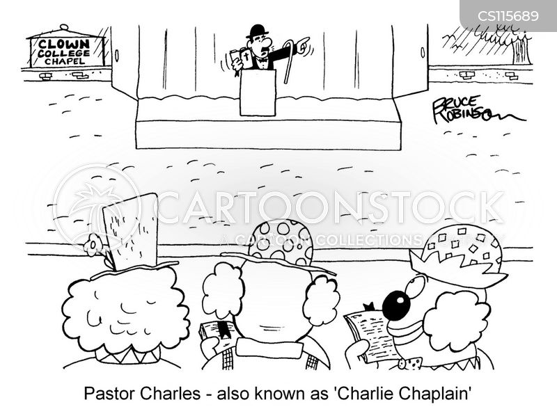 chaplains cartoon