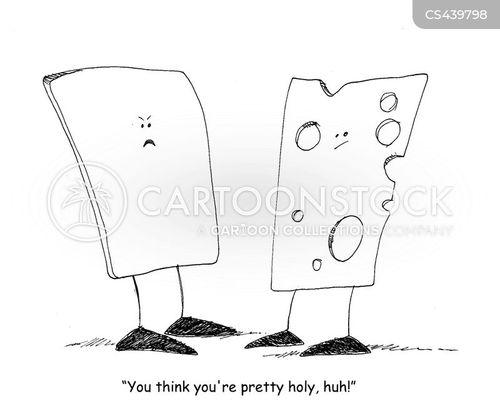 holiness cartoon