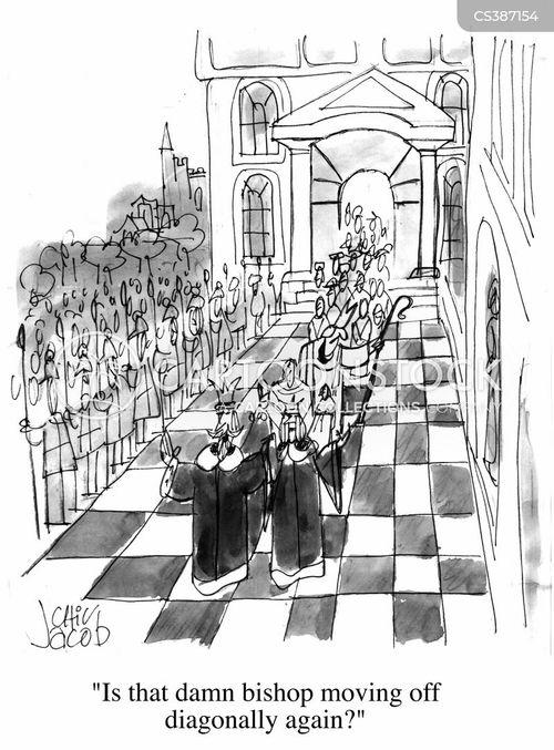 procession cartoon