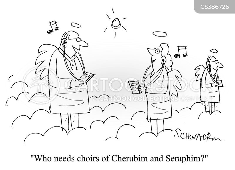 Choirs Of Cherubim And Seraphim cartoons, Choirs Of Cherubim And Seraphim cartoon, funny, Choirs Of Cherubim And Seraphim picture, Choirs Of Cherubim And Seraphim pictures, Choirs Of Cherubim And Seraphim image, Choirs Of Cherubim And Seraphim images, Choirs Of Cherubim And Seraphim illustration, Choirs Of Cherubim And Seraphim illustrations