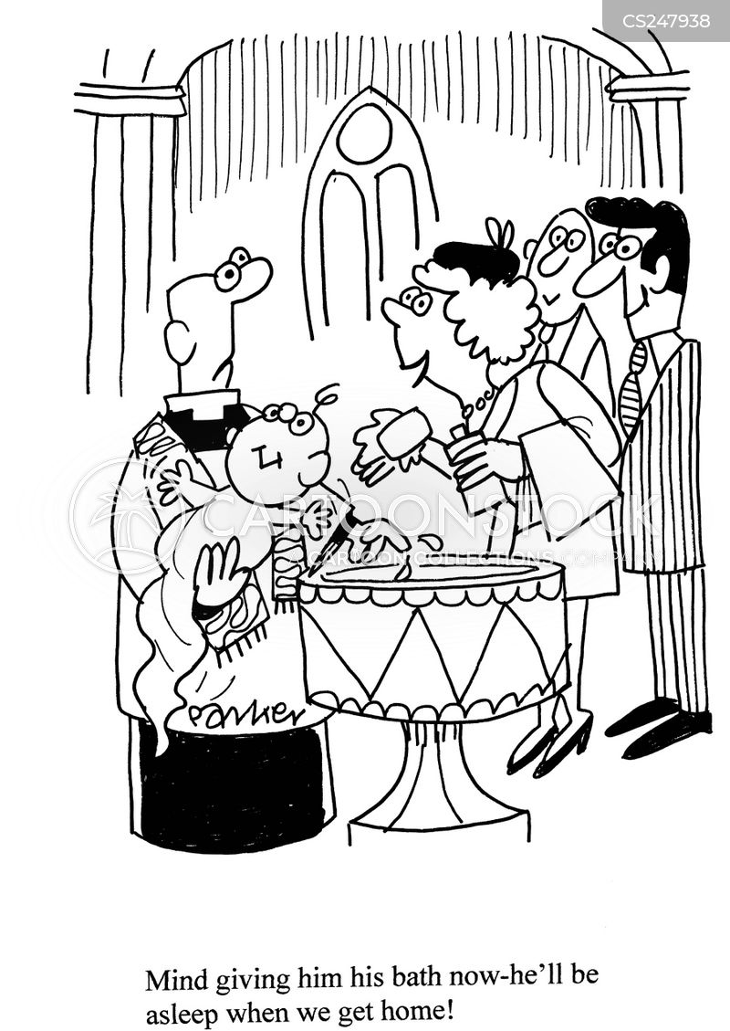 baptismal cartoons and comics funny pictures from cartoonstock